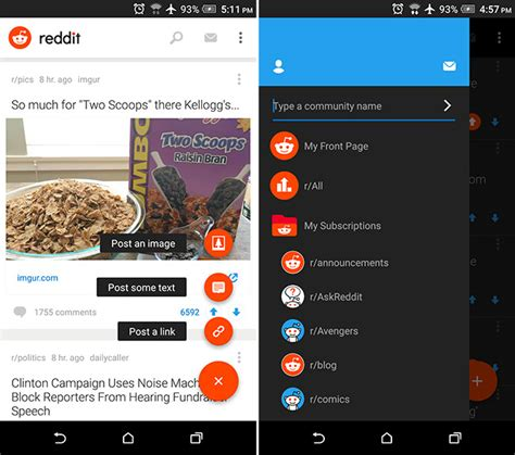 reddit app android official reddit apps for android iphone released