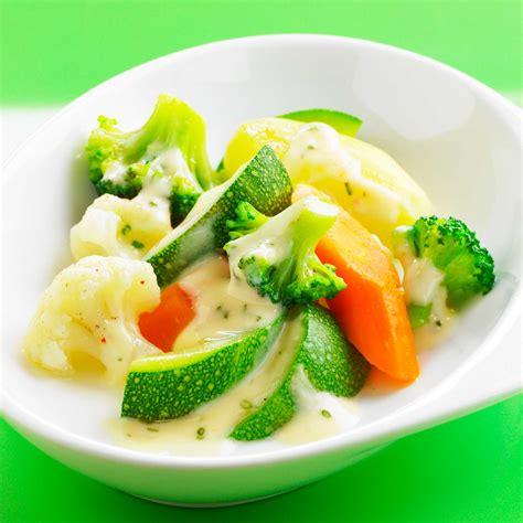 cuisine à la vapeur recettes légumes vapeur en sauce blanche facile et pas cher