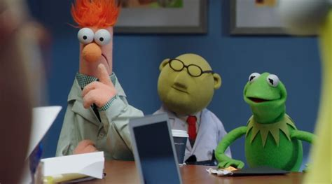 muppets pilot video previews  abc series collider