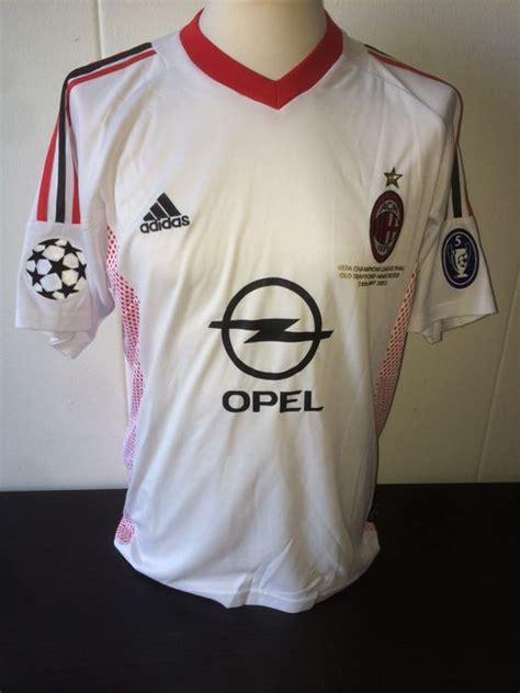 2/2 asiachamp2020 final men's team: Paolo Maldini / AC Milan - Uefa Champions League final ...