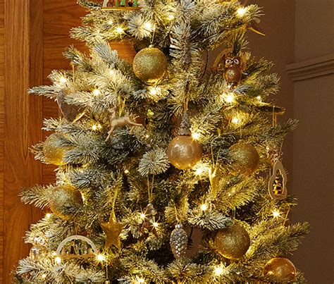 2 weihnachtsbaum clips in eulenform bei tchibo