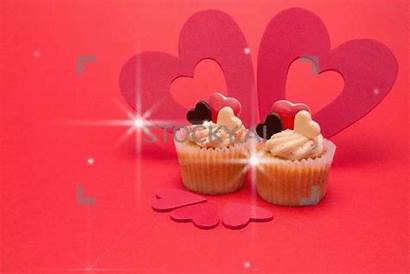 Valentines Sparkling Heart Cupcakes Decorations Five Gifs