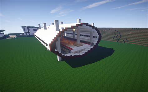 small modern train station  creation