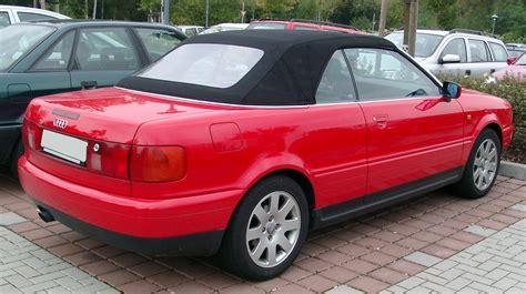 audi 80 b4 cabrio file audi b4 cabriolet rear 20071002 jpg wikimedia commons