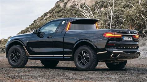 bmw  md pickup truck rendering motorcom