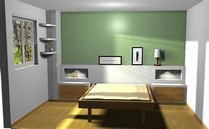 Cabecero de cama de pladur Reformas y Decoración de Interiores en León