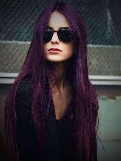 17 Best Ideas About Purple Balayage On Pinterest Plum