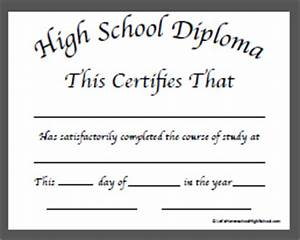 ged certificate template download planner template free With free ged diploma template