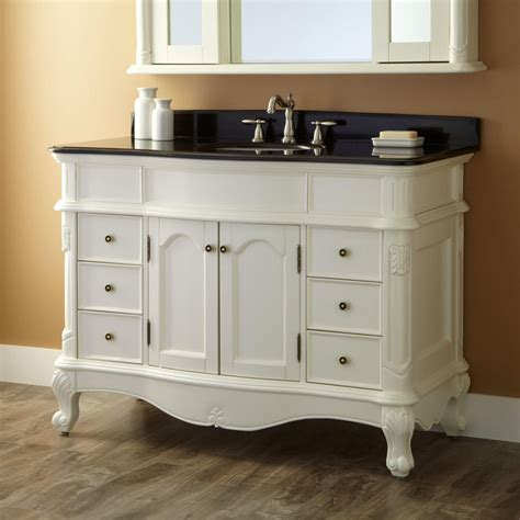 bathroom vanity 48 quot sedwick white vanity new vanities bathroom White
