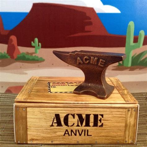 mini acme anvil   great anytime gift gadget tool