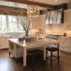 kitchen island table kitchen island as dining table with backless brown leather nailhead stools transitional kitchen