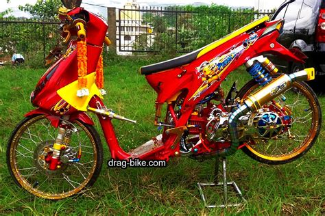 Beat Merah Kontes by Gambar Motor Drag Beat Siteandsites Co