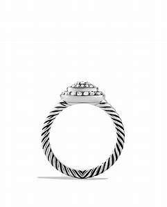 David Yurman Albion Ring With Diamonds In Silver