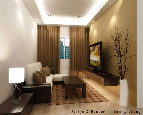 Living Room Wallpaper Malaysia by Malaysia Apartment Living Room Design Wallpaper Dinding