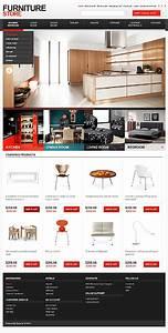 Professional Interior Furniture Website Templates Entheos