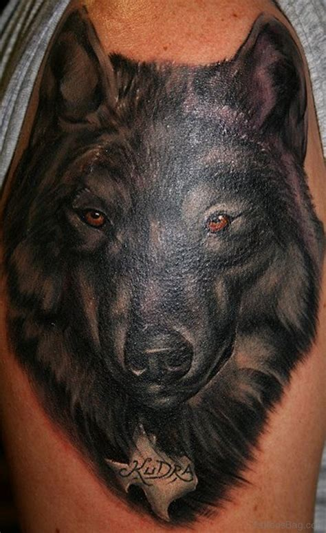 amazing wolf tattoos  shoulder