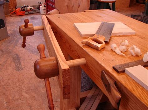woodwork wooden screw vise  plans