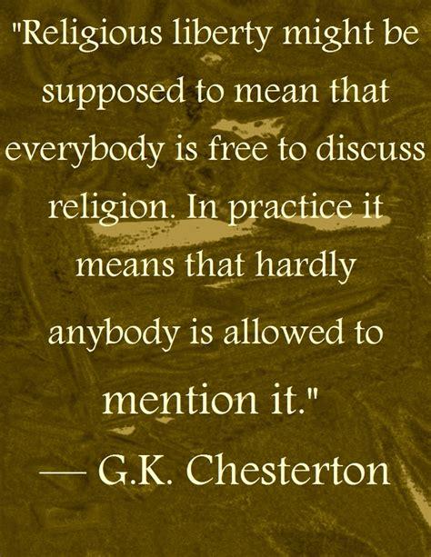 Catholic Quotes About Religious Freedom