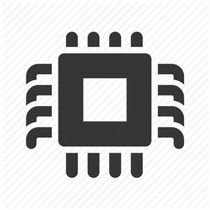 Chip Icon Transparent Computer Technology Tech Cpu