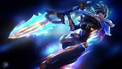 Riven Dawnbringer League Legends Background Booker Mr