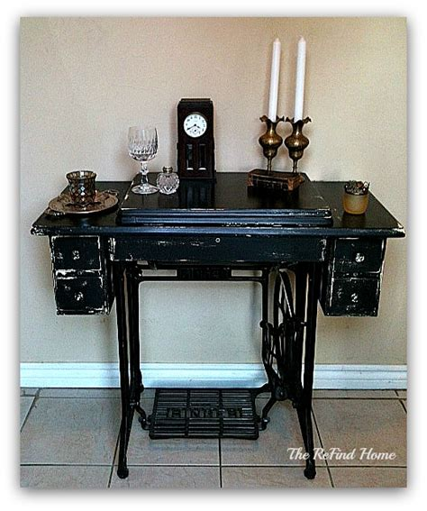 sewing machine desk ideas antique and vintage sewing machine ideas robin redo