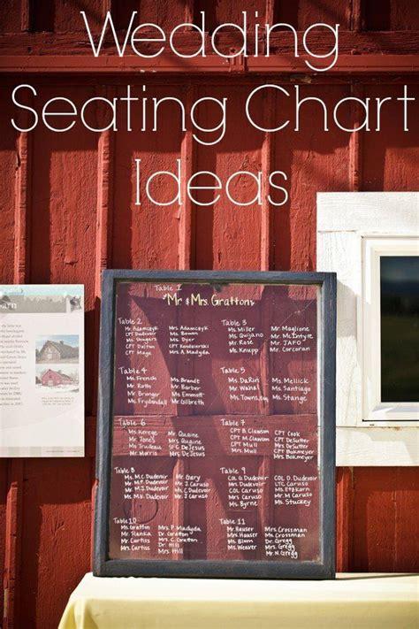 rustic wedding seating chart ideas rustic wedding chic