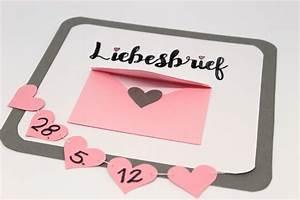 Valentinstag Geschenke Selber Machen : von herzen diy valentinstagsgeschenk liebesbrief ganz einfach selber machen diycarinchen ~ Eleganceandgraceweddings.com Haus und Dekorationen