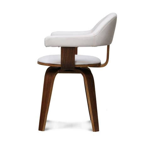 chaise de jardin blanche chaise design scandinave rotative blanche pyörivä