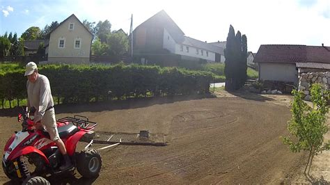 Garten Eben Machen by Erde Zum Rasen Anbauen Herrichten