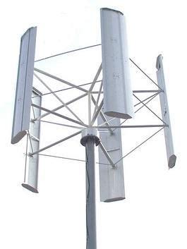 Основные виды ветрогенераторов вертикальные.