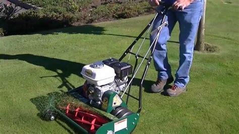 california trimmer reel mower hd youtube