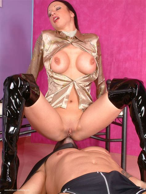 Satin Trinity Foot Fetish Fully Clothed Sex
