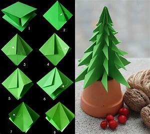 Tannenbaum Falten Anleitung : anleitung zum tannenbaum falten aus papier diy origami ~ Lizthompson.info Haus und Dekorationen