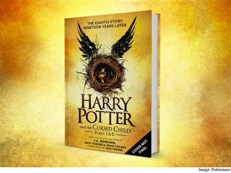 'Harry Potter 8' Not a Novel, Warns Rowling but 'Cursed ...