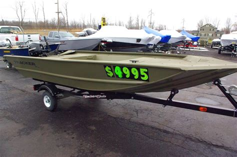 Craigslist Used Bass Boats by Used Tracker Grizzly 1448 Jon Boats For Sale Boats