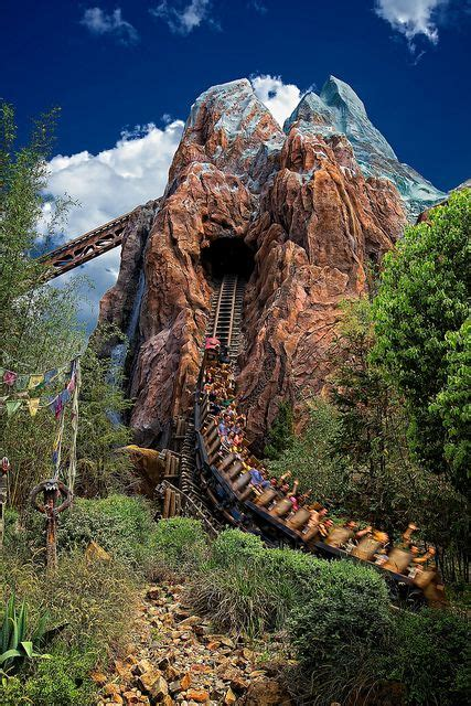 expedition everest rollercoaster yeti disney roller