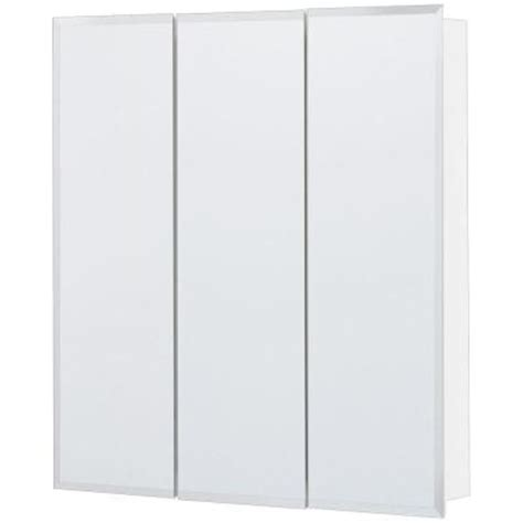 24 x 24 medicine cabinet glacier bay 24 in x 24 in surface mount mirrored