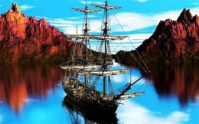 Ship Pirate Wallpapers Wallpapersafari Code