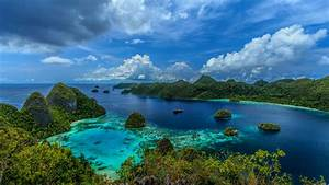 Indonesia, Tropical, Islands, Mountain, Landscape, Wallpapers