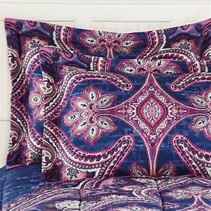 Mainstays, Grace, Medallion, Purple, Bed, In, A, Bag, Complete