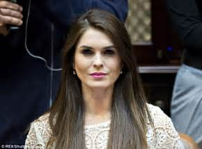 Trump makes Hope Hicks his communications director | Daily ...