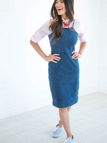 Denim Jumper Dress Women - Oasis amor Fashion