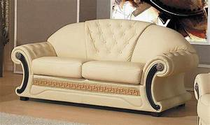 Sofa Amerikanischer Stil : barocco leather sofa provincial ~ Michelbontemps.com Haus und Dekorationen