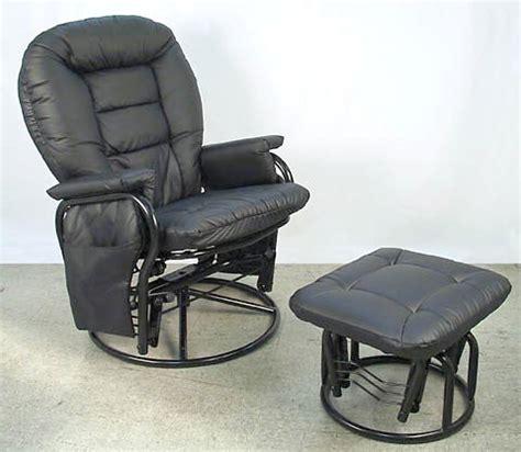 rizzo 360 degrees swivel glider rocker chair