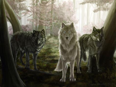 Wolves By Fleetingember On Deviantart