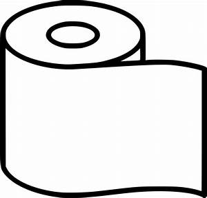 Toilet Paper Svg Png Icon Free Download (#492341 ...