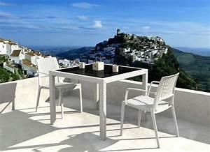 Table De Jardin 2 Personnes : table de jardin 2 personnes l 39 habis ~ Teatrodelosmanantiales.com Idées de Décoration