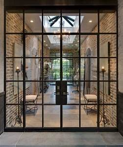 Steel doors & windows add a subtle and elegant touch to a