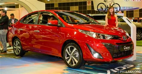 New Toyota Vios On Display In Singapore
