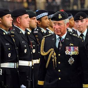 The future king of Canada in his Canadian army uniform ...